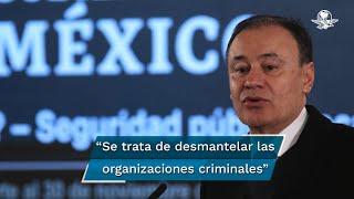 El secretario de Seguridad, Alfonso Durazo Montaño, dijo que una vez que concluyan las diligencias que realizan las autoridades de Guanajuato, la FGR ejercería la orden de aprehensión por delitos de carácter federal