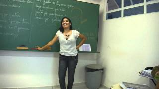 Professora Renata sendo assediada na Laje