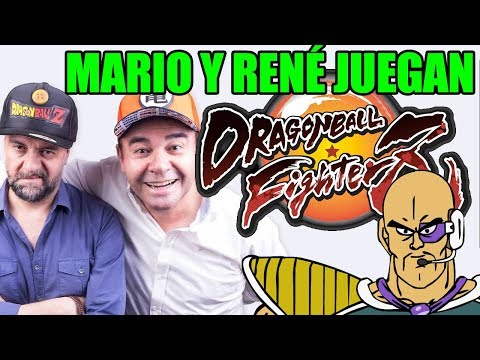 MARIO CASTAÑEDA Y RENÉ GARCÍA JUEGAN DRAGON BALL FIGHTERZ