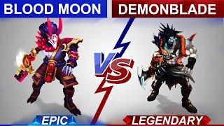 Blood Moon Tryndamere vs Demonblade Tryndamere Skin Comparison   SKingdom - League of Legends