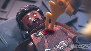 Lego Avengers Infinity War Thanos gets Space Stone Lego Stop Motion