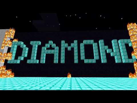 """Diamond"" - Minecraft parody of Rebecca Black's ""Friday"""