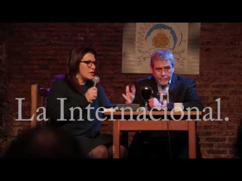Café Los Chisperos empezó un ciclo de agenda popular de Entrevista Cynthia Garcia a Jorge Ferraresi
