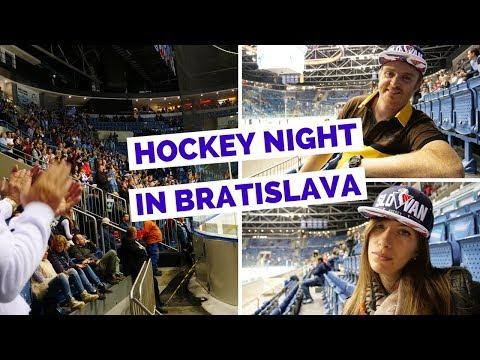 Hockey In Slovakia | Watching KHL HC Slovan Bratislava Ice Hockey Game