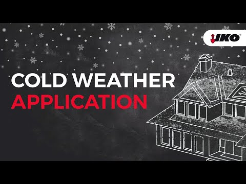 Shingle Roofing In Cold Weather - Can You Replace A Roof In The Winter? - IKO