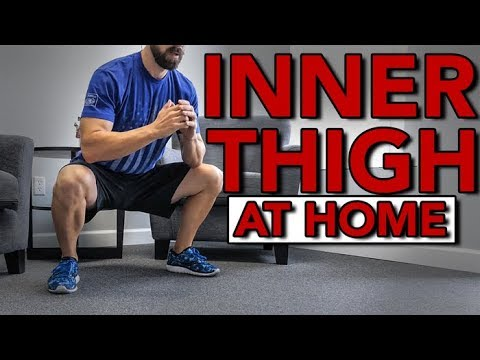Inner Thigh Exercises At Home Without Equipment  - 5 Bodyweight Movements