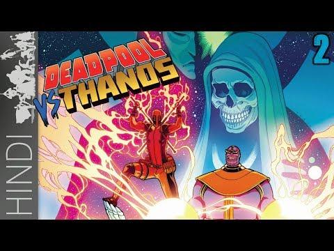 Deadpool vs Thanos | Part -2 | Marvel Comics In HINDI