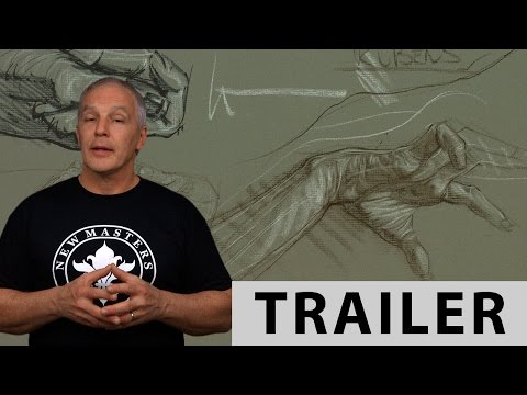 How To Draw Hands With Steve Huston - TRAILER (Ultra HD 4K)