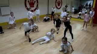 Открытый урок по детской современной хореографии, 5-6 лет (препод. Анна Протопопова)