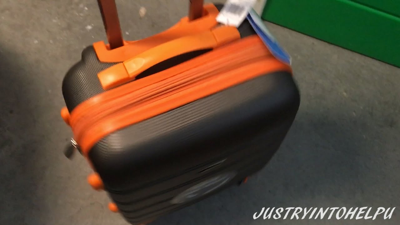 Rockland Melbourne 20-Inch Abs Carry On Luggage Review - Best ...