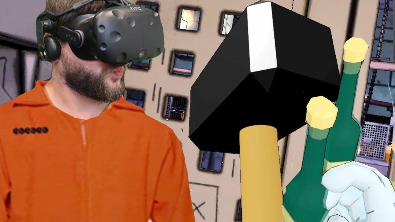 MAMY BIMBER, UCIEKAMY ! - Prison Boss VR: (S2, Odcinek 5) HTC VIVE VR