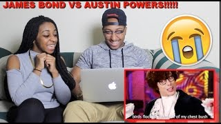 Couple Reacts : ERB James Bond vs Austin Powers Reaction!!!