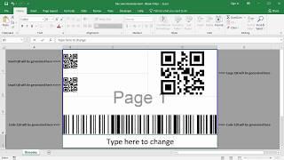 QR-code-generator für Excel-Kostenlose VB-makro