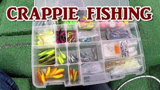 Crappie Fishing With Jigs - Docks and Vertical Jigging