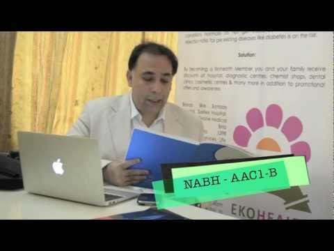 NABH in 1 minute - Training - AAC 1-B - Faculty - Dr Akash S Rajpal. Brought to you by Ekohealth