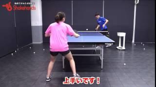 女子でもチキータはできるんです! by 山本怜【卓球】 山本怜 検索動画 17
