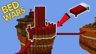 Building a CASTLE in BED WARS