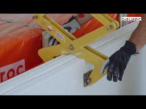 Bauroc sienos plokščių montavimas. IKEA statybos Estijoje