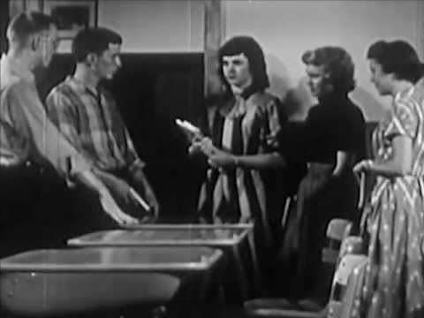 1950s Social Guidance  Gender Roles  The Good Loser 1953  CharlieDeanArchives
