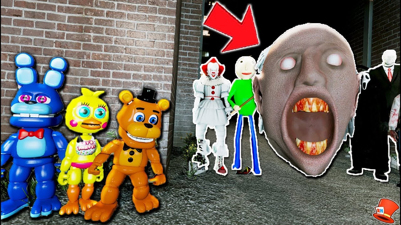 Can FNAF World Animatronics Defeat the Giant Granny's Head House of  Horrors? (GTA 5 Mods FNAF)
