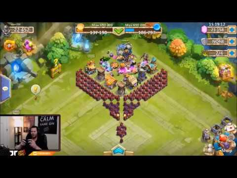 New Account Rolling Hero Collector START IT OFF RIGHT! Castle Clash