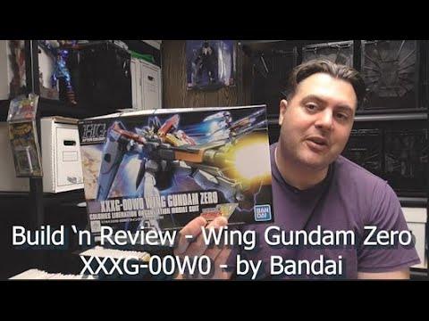Build n' Review - XXXG-00W0 Wing Gundam Zero - HG model - by Bandai