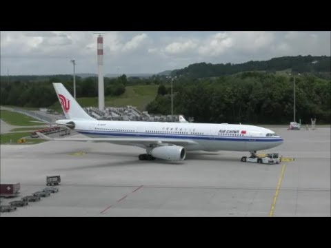 Air China is back in Zürich after 17 years  (with live ATC)
