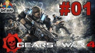 Gears of War 4 - Gameplay ITA - Walkthrough #01 - Si parte