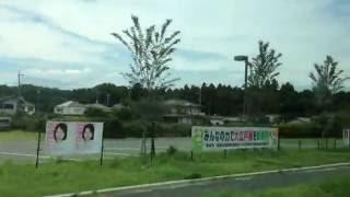 西武バス 車窓[2/2]新座営業所→朝霞台駅/ 久留22系統(朝霞台行) 東久留米1150発