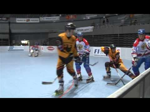 World Champ. Inline-Hockey France 2014, Germany-Russia 1st part