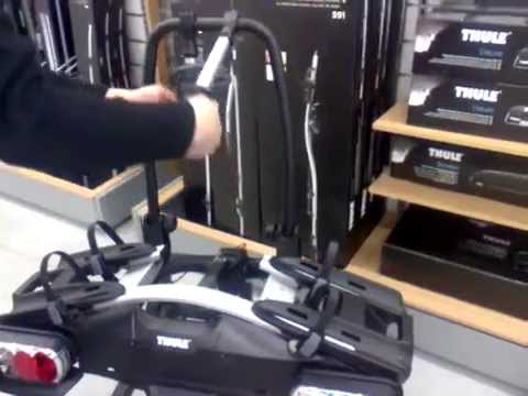 thule easyfold fietsdrager productvideo nl be doovi. Black Bedroom Furniture Sets. Home Design Ideas