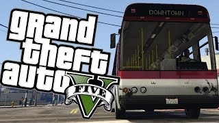BUS RIDE FROM HELL - Grand Theft Auto V PC
