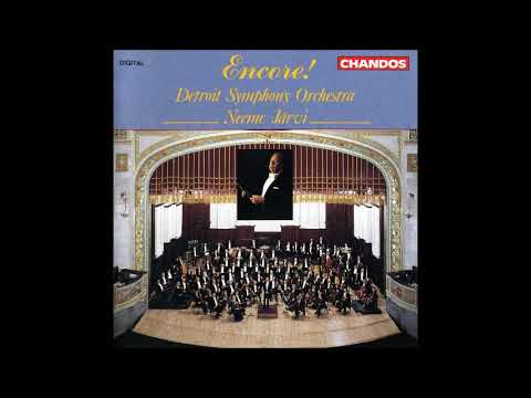 Detroit Symphony Orchestra Encores, conducted by Neeme Järvi (part two)