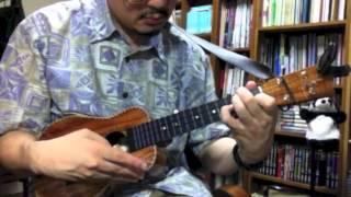 真夏の果実 - ウクレレ・ソロ / Summer Blue - ukulele instrumental cover