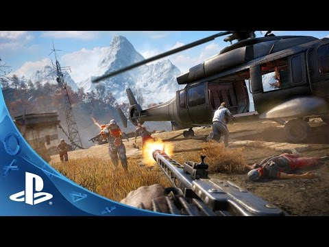 Far Cry 4 Trailer Survive Kyrat Ps4 Ps3 Youtube
