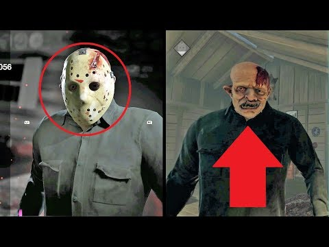 ALL JASONS UNMASKED! Friday the 13TH