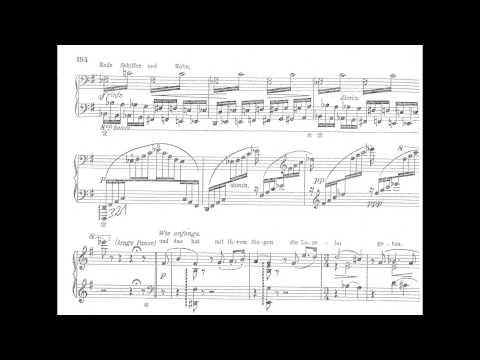 Franz Liszt : Die Loreley  ( Piano Solo Version ) Claudius Tanski
