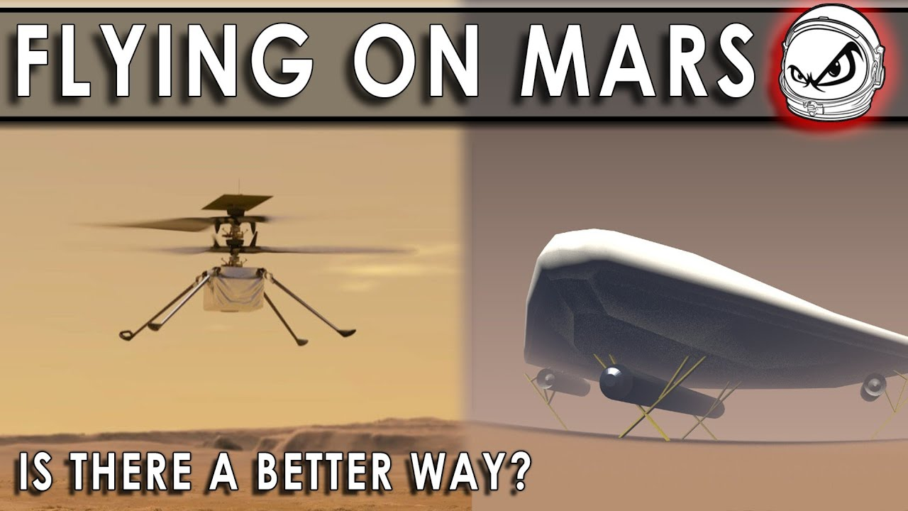 NASA Ingenuity is a success!!!  But can SpaceX make a Mars Zeppelin work better?