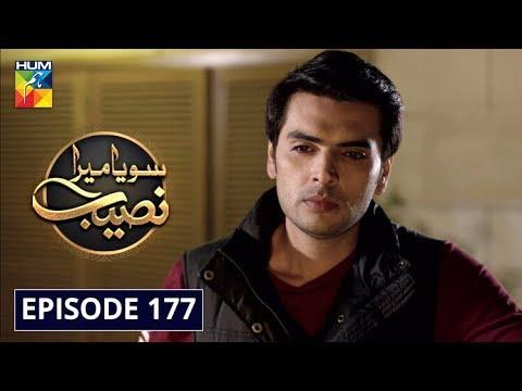 Soya Mera Naseeb Episode 177 HUM TV Drama 20 February 2020