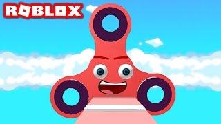FIDGET SPINNER IN ROBLOX! (Roblox Fidget Spinners)
