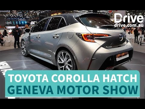 Toyota Unveils New Corolla Hatch   Drive.com.au - Dauer: 61 Sekunden