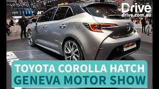 Toyota Unveils New Corolla Hatch | Drive.com.au