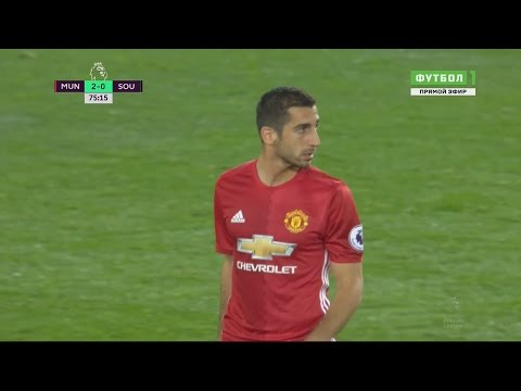 Henrikh Mkhitaryan vs Southampton FC (Home) FULL HD 1080p ( 20/08/2016)
