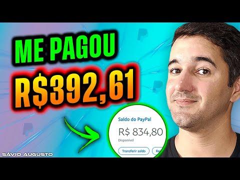 Me Pagou R$392.61 Reais   Melhor Site Para Ganhar Dinheiro Na Internet