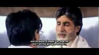 Amitabh Bachchan Mohabbatein dialogue