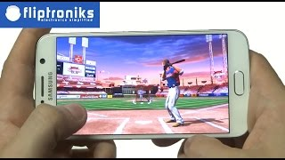 MLB.com Home Run Derby 15 Galaxy S6 Gameplay - Fliptroniks.com