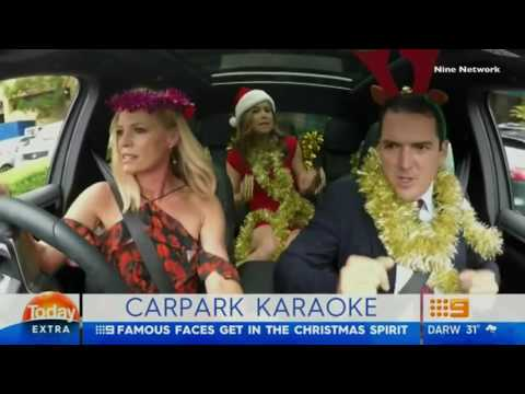 'Today' team goes 'Carpark Karaoke' (take on James Cordon's carpool karaoke.)