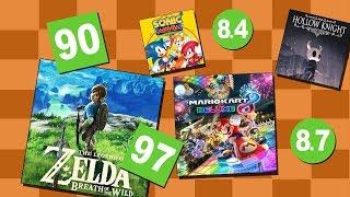 Top 10 Nintendo Switch Pelit [metacritic]