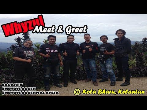 Whyzul Meet & Greet at Kota Bharu, Klate