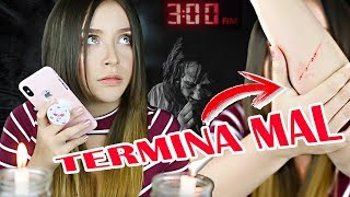 NUNCA LE HABLES A SIRI A LAS 3 AM | RETO PARANORMAL | Stechell
